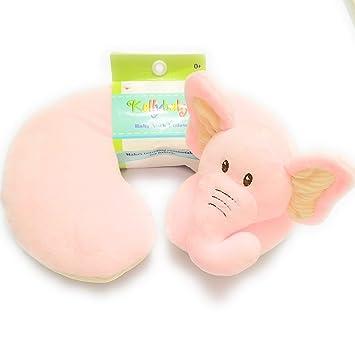 Amazon.com: Cojín para el cuello de bebé, diseño de elefante ...