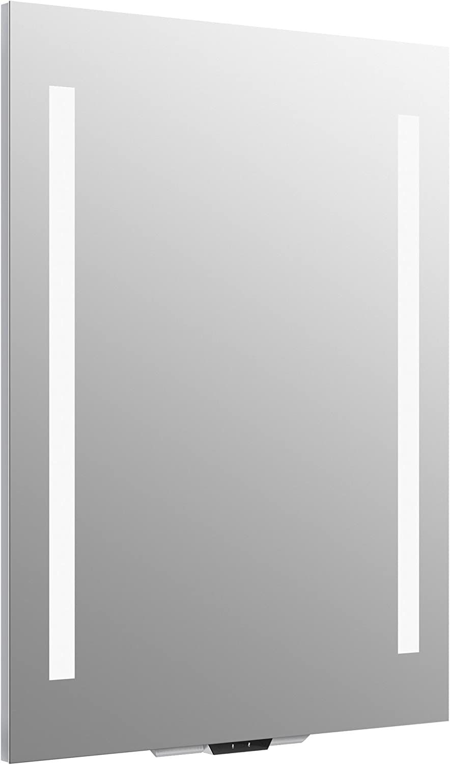 "Vanity Mirror with Lights by KOHLER, Bathroom Vanity Mirror with Amazon Alexa, Verdera Voice Collection, 24"" Wide By 33"" High, K-99571-VLAN-NA"