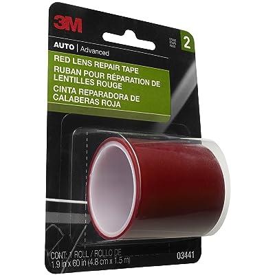3M Red Lens Repair Tape, 03441, 1.875 in x 60 in: Garden & Outdoor