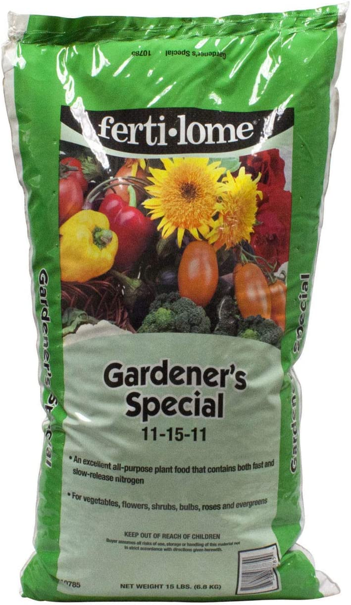 Fertilome Gardener's Special All Purpose Plant Food 11-15-11 (Trace Elements, Fast, Slow Release Nitrogen), 15 LB