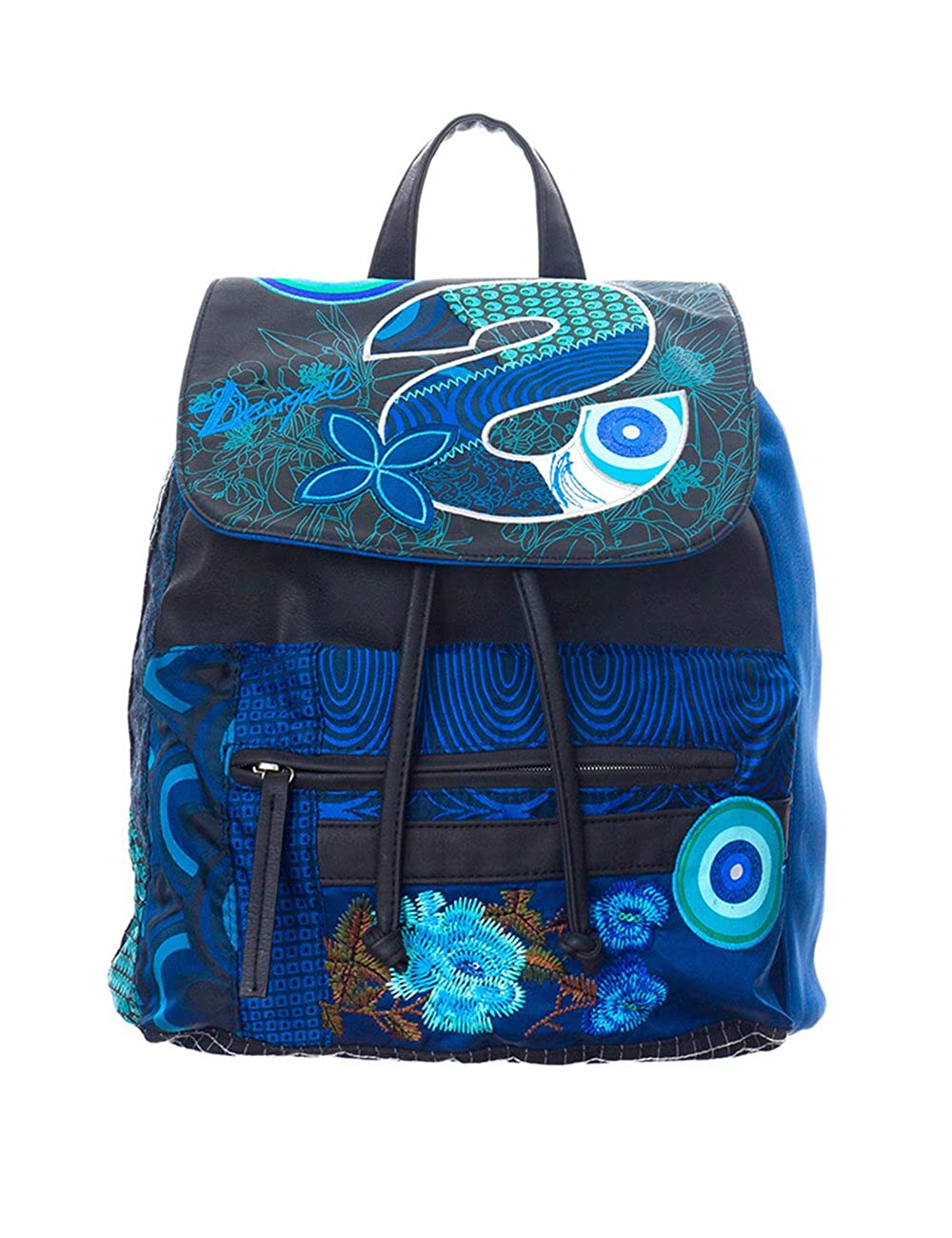 Amazon.com | Desigual Bag Oxford S Patch After Dark 46x5268/2080 Womens | Oxfords