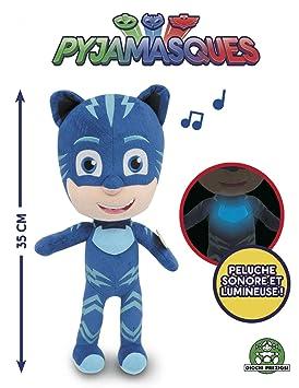 Giochi Preziosi pjm12000 PJ MASKS Super pigiamini personaggio con música