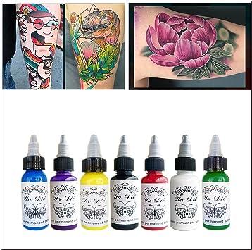 7 colores plantas naturales para pigmento del tatuaje maquillaje ...