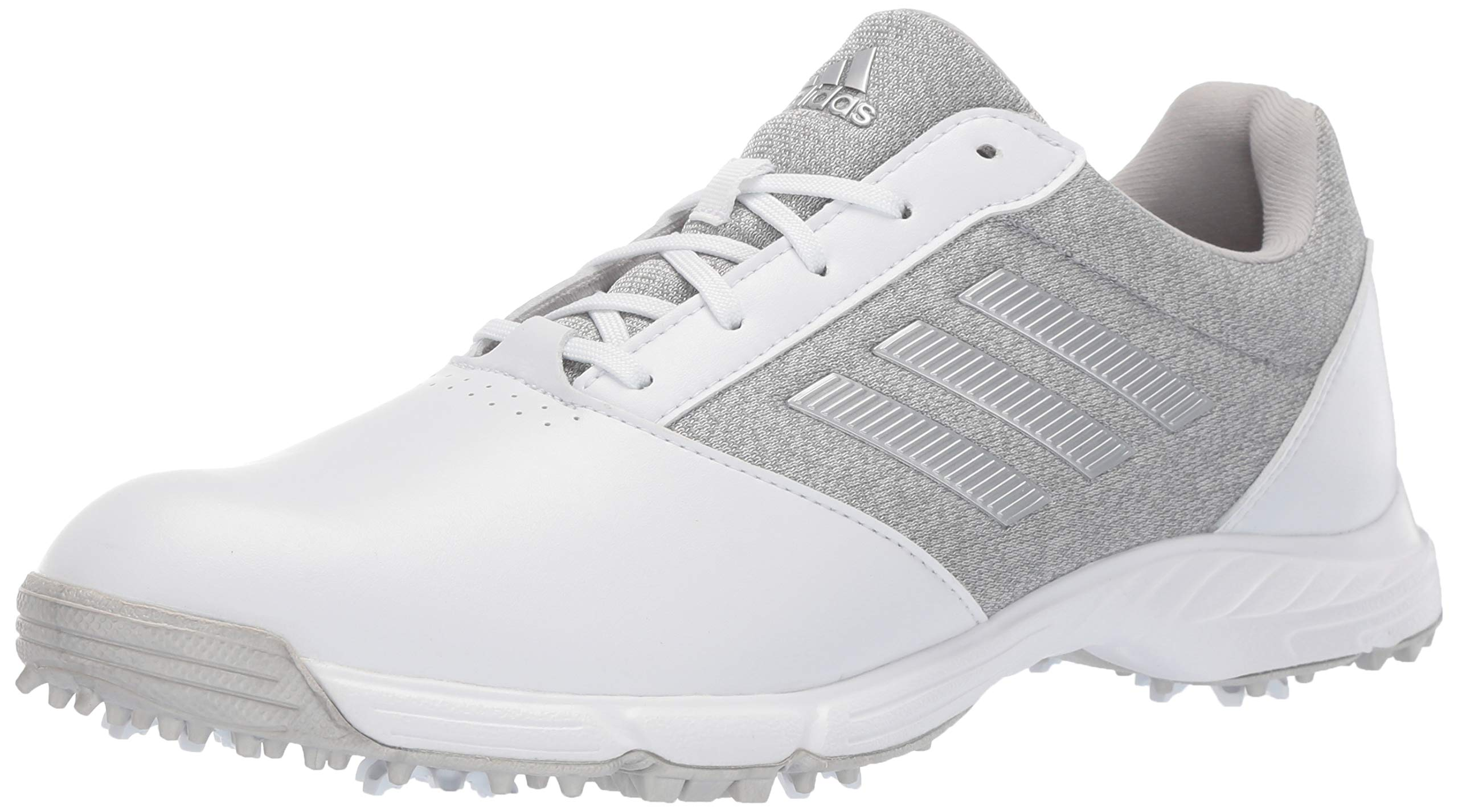 adidas Womens TECH Response Golf Shoe, White/Silver Metallic/Grey Two, 9 M US by adidas