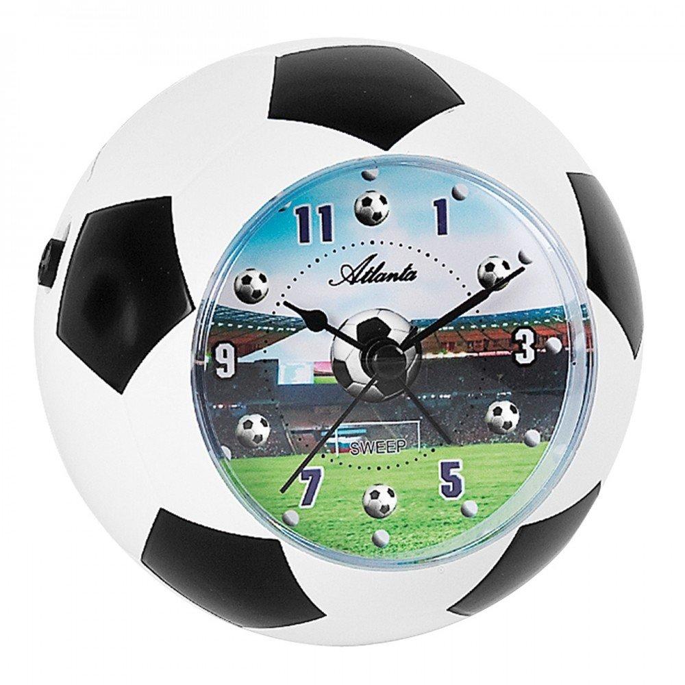 Atlanta Niños despertador Fútbol WM Analog - 1197: Amazon.es: Hogar