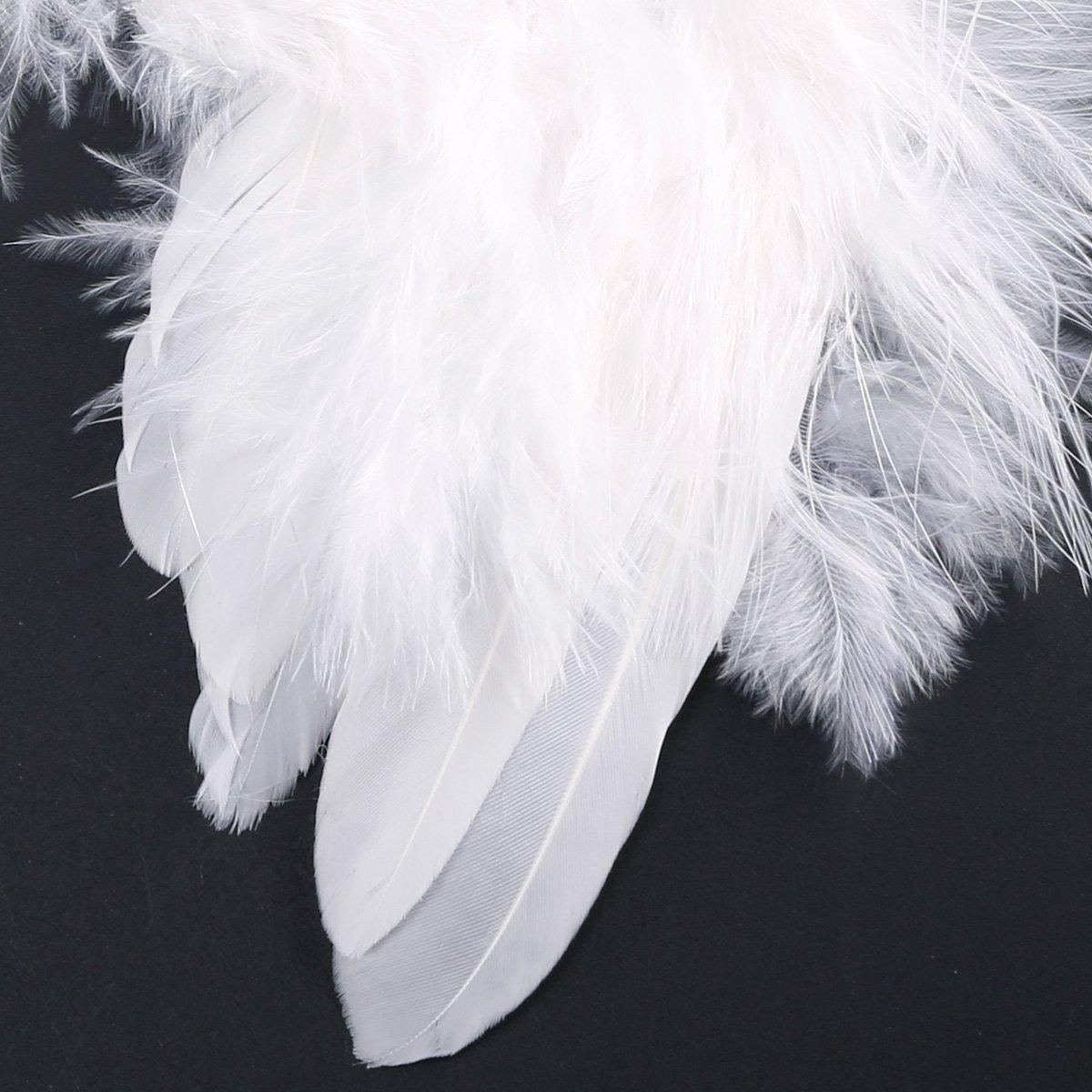 10 St 16cm Engelsflugel Federn Flugel Engel Anhanger Weihnachten