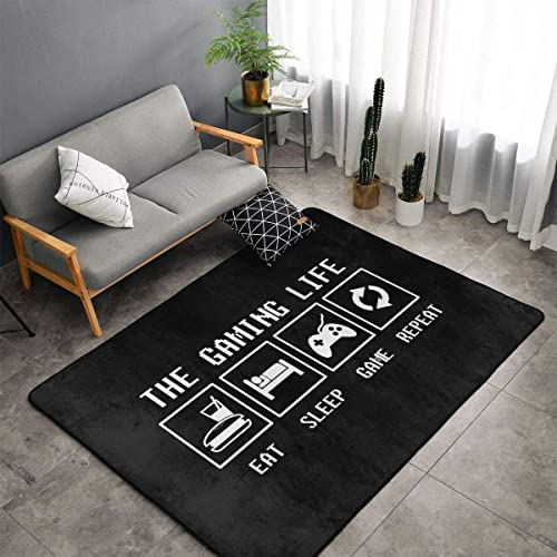 Jingclor The Gaming Life Area Rug