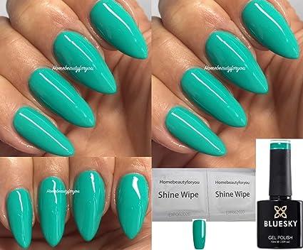 Bluesky Sv01 Arcadia Verano Vibes Verde Esmalte De Uñas Gel