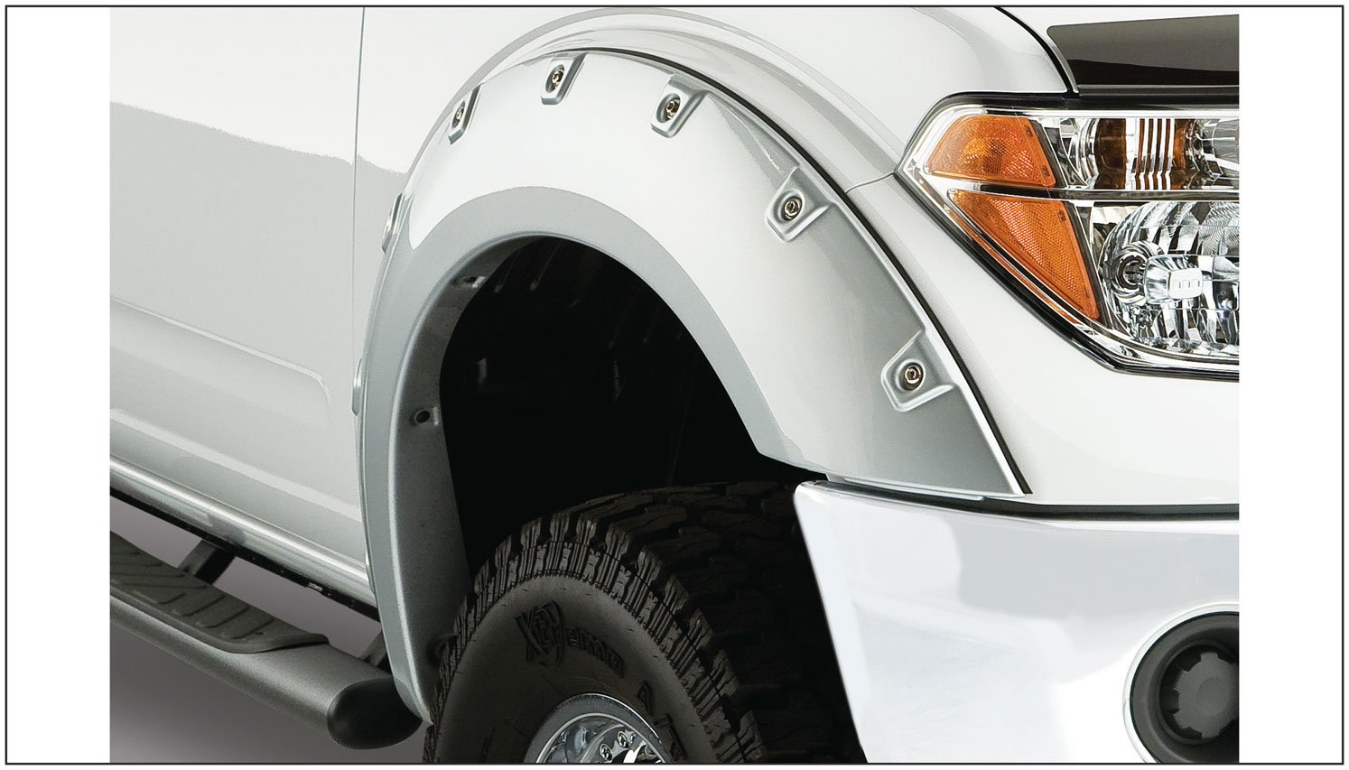 Bushwacker Nissan Boss Pocket Style Fender Flare Set of 4