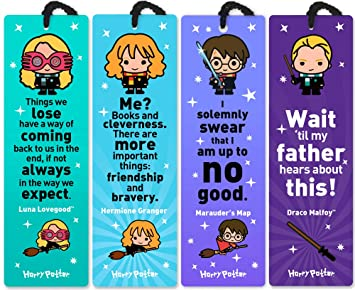 Amazon.com: Re-marks Harry Potter Quotemark Set (4 unidades ...