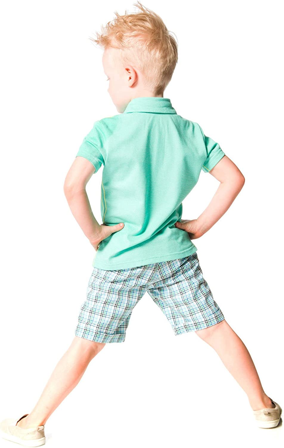 Deux par Deux Boys/' T-shirt with Print in Gray Woody Buddy Sizes 18M-6
