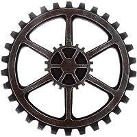 SUPVOX Steampunk Ingranaggio Decorazioni Industrial Vintage da Parete e Muro 24cm