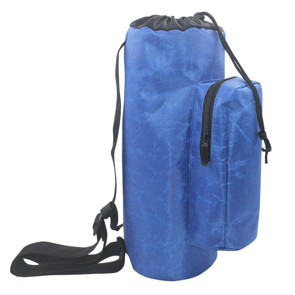 Waterproof and Shockproof Oxygen Cylinder Tank Holder Backpack Sleeve Bag with Adjustable Shoulders and Side Pockets for Oxygen Cylinders and D Tanks (HGJ-74)