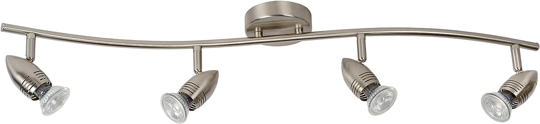 Techo Foco hormig/ón gris compacta rectangular urbaner estilo GU10/L9/cm/ /L/ámpara de techo de foco Piso de cocina