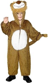 NET TOYS Traje de león para niños Disfraz Animal Salvaje Vestuario