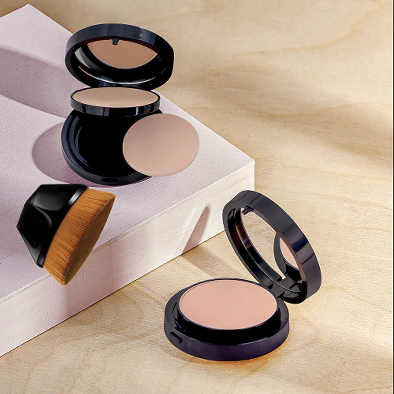Pincel Maquillaje pl/ástico de algod/ón y Soporte para hisopos con Tapa Brochas Maquillaje ODOOKON Organizador Almohadillas de Maquillaje de acr/ílico Transparente