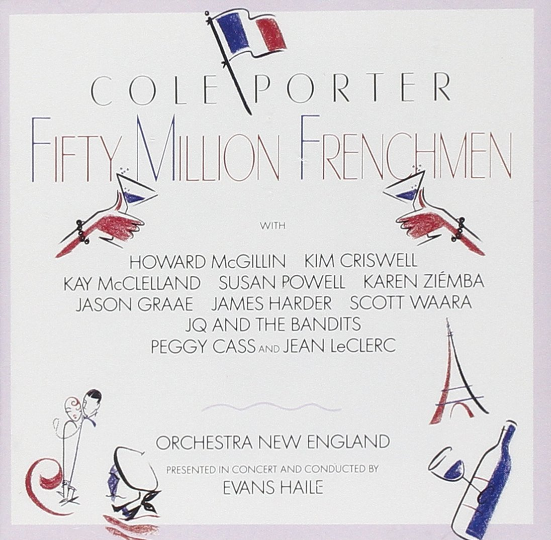 High quality Fifty Million Frenchmen Studio 1991 55% OFF Cast