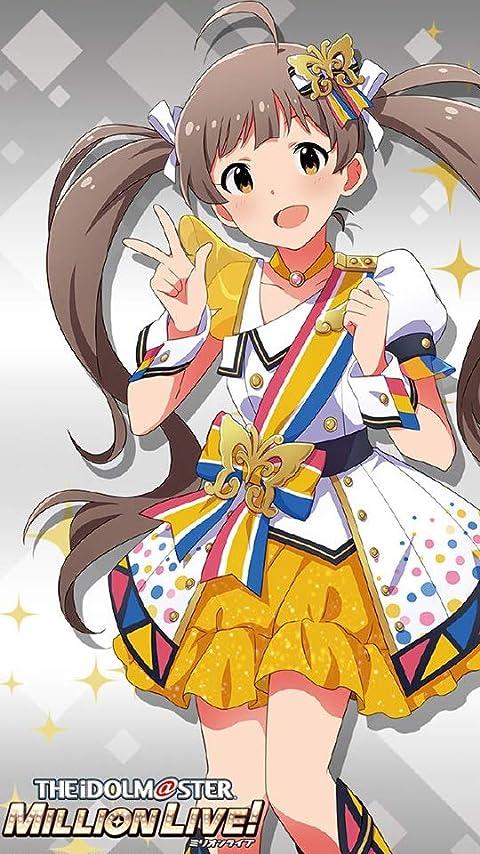 アイドルマスター 『箱崎星梨花』 XFVGA(480×854)壁紙画像
