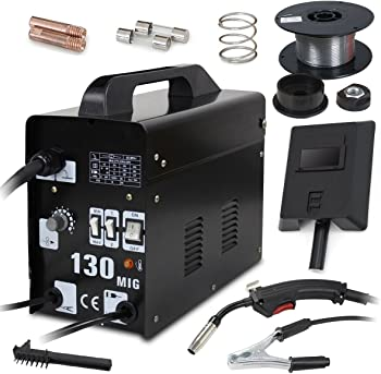 Super Deal MIG 130 AC Flux Core Wire Automatic Feed Welder Welding Machine