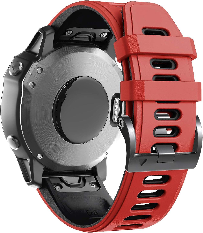 Malla ANCOOL Compatible con Fenix 6 Watch Band 22 mm