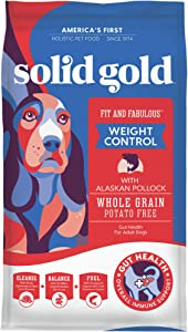 Solid Gold - Fit & Fabulous - Grain-Free Natural Chicken, Sweet Potato & Green Bean - Holistic Weight Control Dog Food