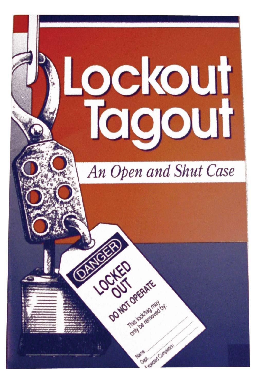 HB13 Paper National Marker Handbook, Lockout Tagout An Open and Shut Case, 10/pk (Pack of 10)