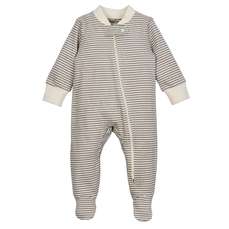 Dordor & Gorgor Organic Zip Front Pajamas
