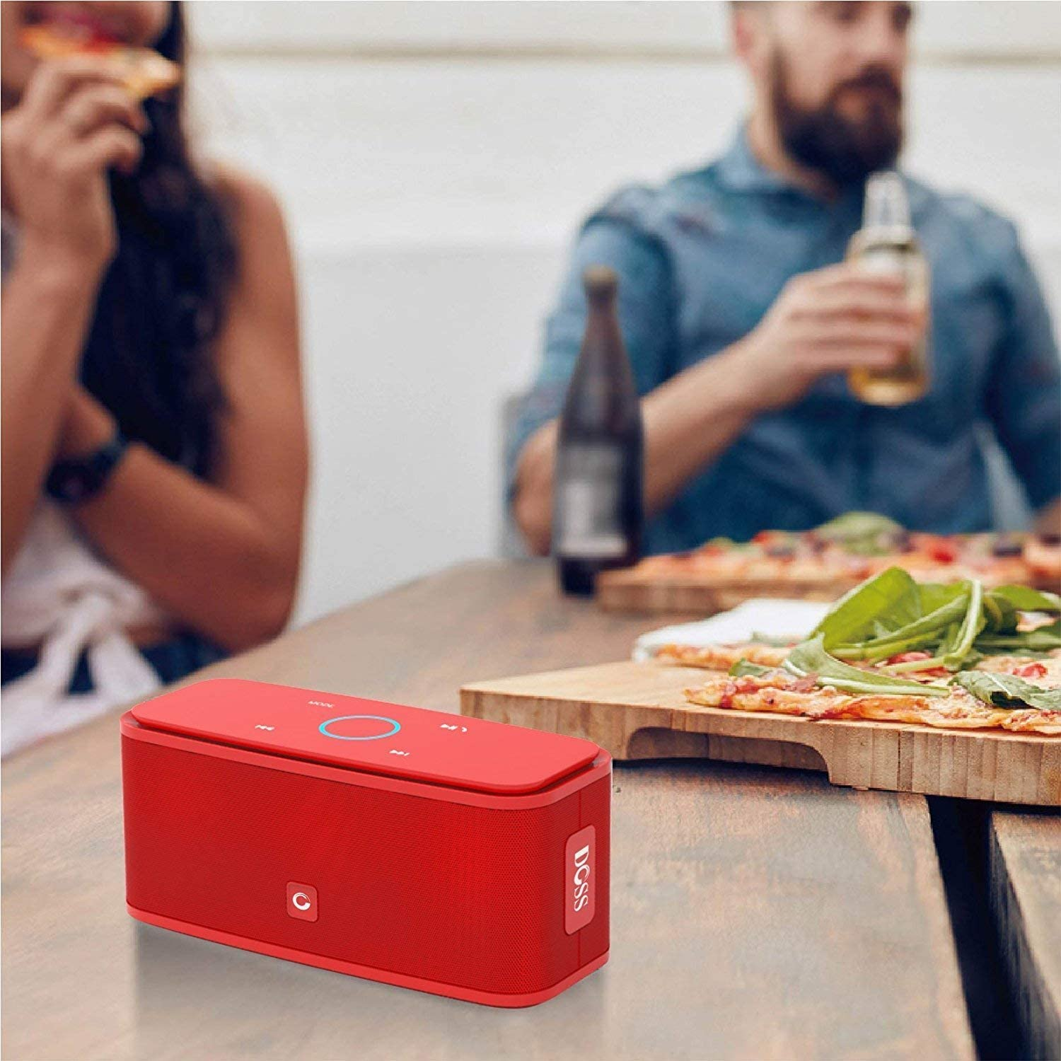 DOSS SoundBox Touch Bluetooth Speakers