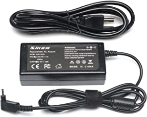 SiKER 19V 3.42A Laptop Adapter Charger for Acer Chromebook 15 14 13 11 R11 CB3 CB5 CB5-571 C720 C720p C740 Acer Aspire P3 P3-131 R14 R5-471T S7 S7-191 S7-391 S7-392 Iconia W700 Tablet AO1-131/431