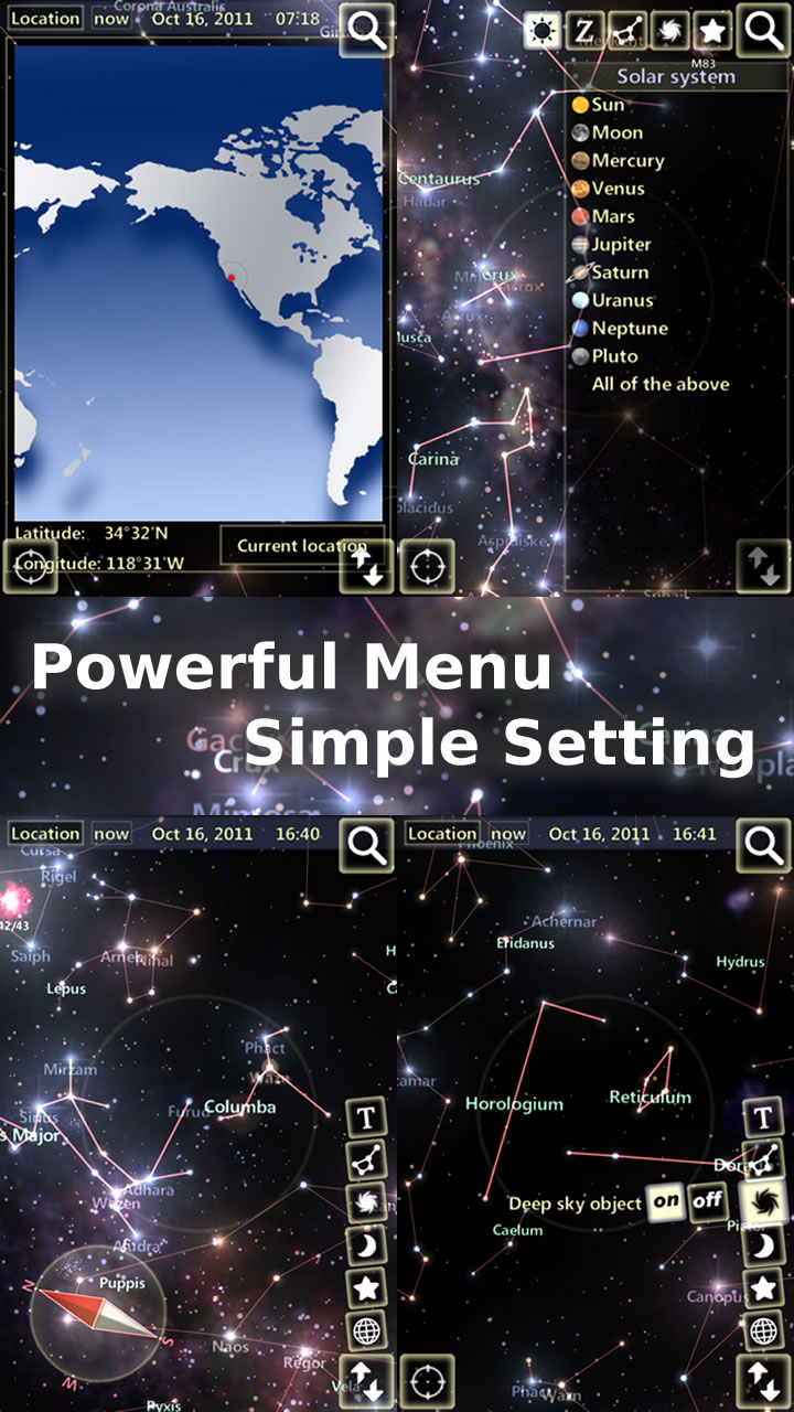 Amazoncom StarTracker Appstore For Android - Night sky map now