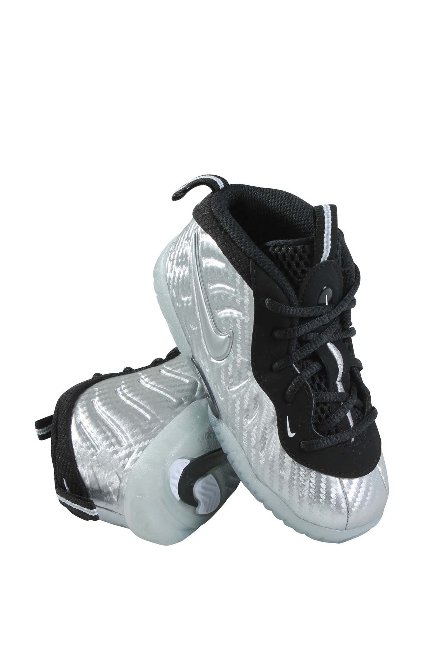 843769-007 INFANTS AND TODDLER LITTLE POSITE PRO (TD) NIKE METALLIC SILVER