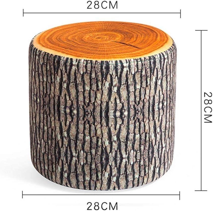 B07GK1QVMK QTQZ Brisk- Shoe Stool Switch Creative Round Cloth Imitation Fruit Sofa Stool Living Room Sofa Stool (Style Optional) (Color: 4) 71Z0Mdq2BW-L