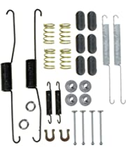ACDelco 18K1147 Professional Rear Drum Brake Shoe Adjuster and Return Spring Kit with Springs and Caps