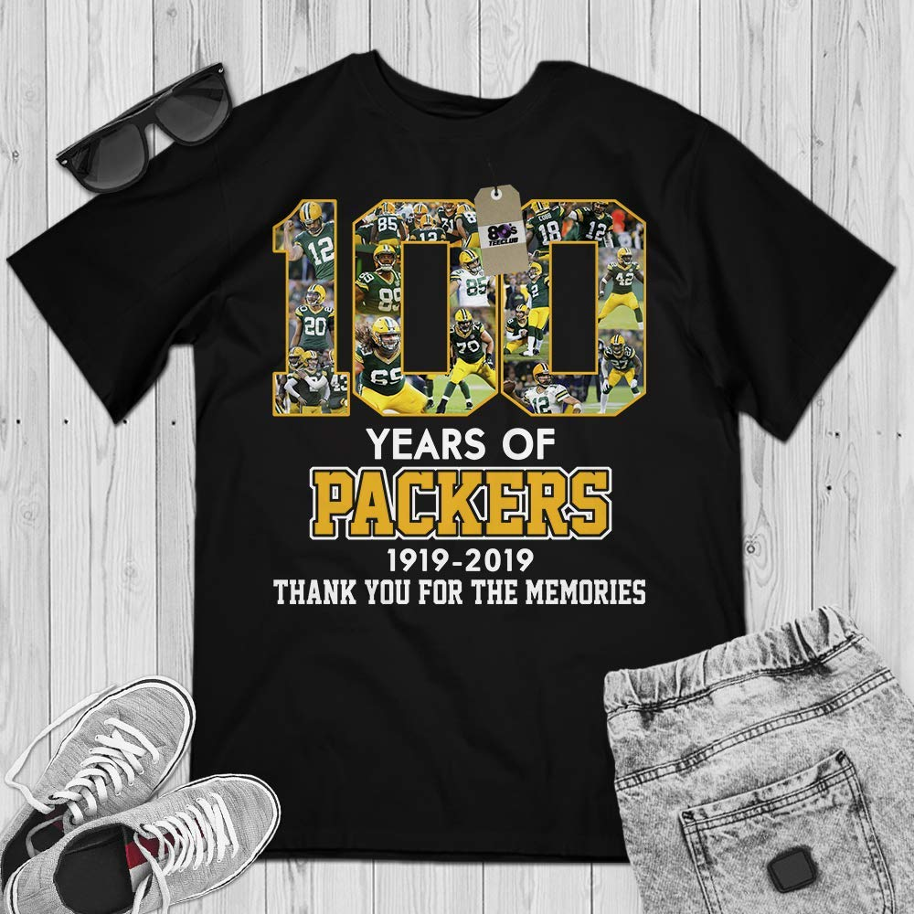 best authentic 08565 82096 Amazon.com: Green-Bay 100 Years Of 1919-2019 Football ...