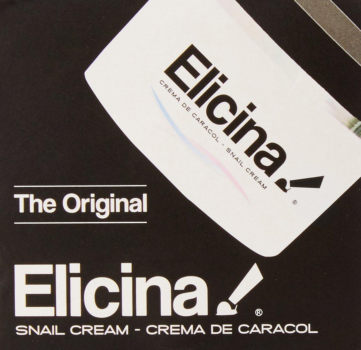 Amazon.com: Elicina Crema De Caracol La Original - Reduce Las Arrugas, Manchas Oscuras Y El Acne - Tratamiento Organico Y Natural: Beauty