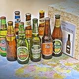 Geschenkbox Bierweltreise verpackt im Präsentkarton (9 Flaschen)