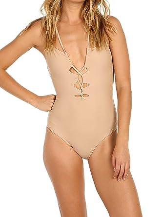 0e5ae0394de Suboo Women's Crisscross One Piece at Amazon Women's Clothing store: