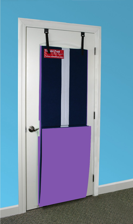 Tumbl Trak Girl's Handstand Homework Mat, Purple, 9 x 2-Feet x 5/8-Inch