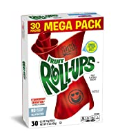 Deals on Betty Crocker Fruit Snacks Fruit Roll-Ups 30 Rolls, 0.5 oz Each