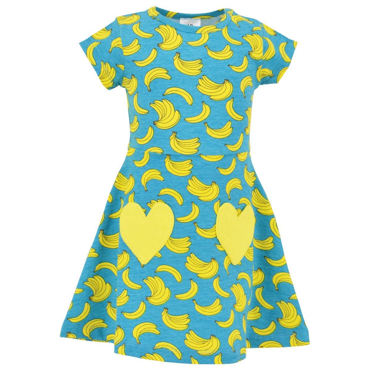 606b10ad2cc03 Amazon.com  Unique Baby Girls Spring Summer Banana Dress  Clothing