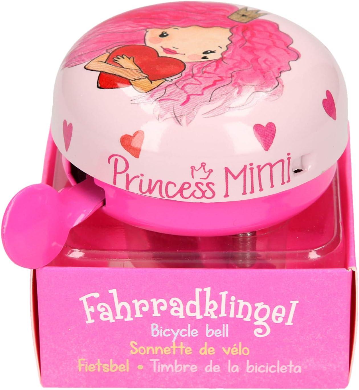 TOP MODEL Princess Mimi Timbre para Bicicleta Ciclismo Unisex Infantil, Multicolor (Multicolor), Talla Única