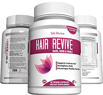 Amazon.com: Hair Skin and Nails Vitamin Supplement with Biotin ...