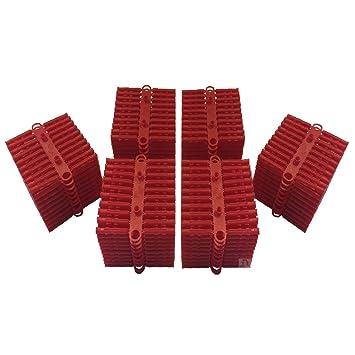 Spine Ad Espansione.1000 X Rosso Spine Da Parete Per Impieghi Pesanti Materie