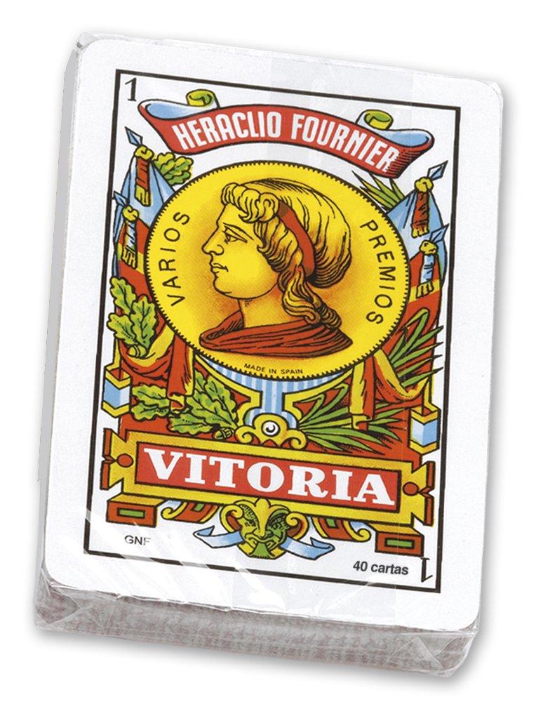 Fournier- Set mus Lata metálica Conjunto de Baraja Española y Amarracos, (1039149)