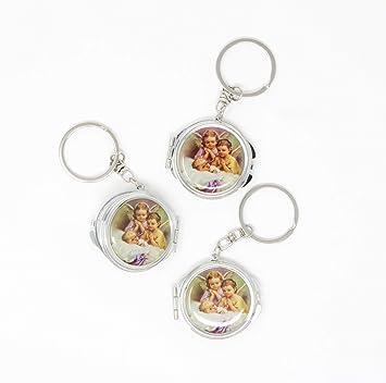 Amazon.com: 12 piezas Nuevo Bautizo Mini Compact Espejo ...