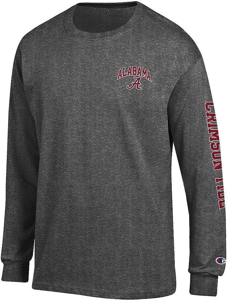 Elite Fan Shop NCAA Mens Long Sleeve Shirt Arm Dark Heather
