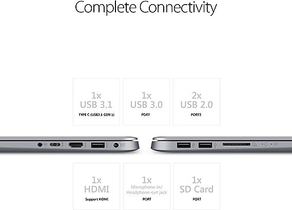 Amazon.com: Ordenador portátil Asus VivoBook F510QA de 15,6 ...
