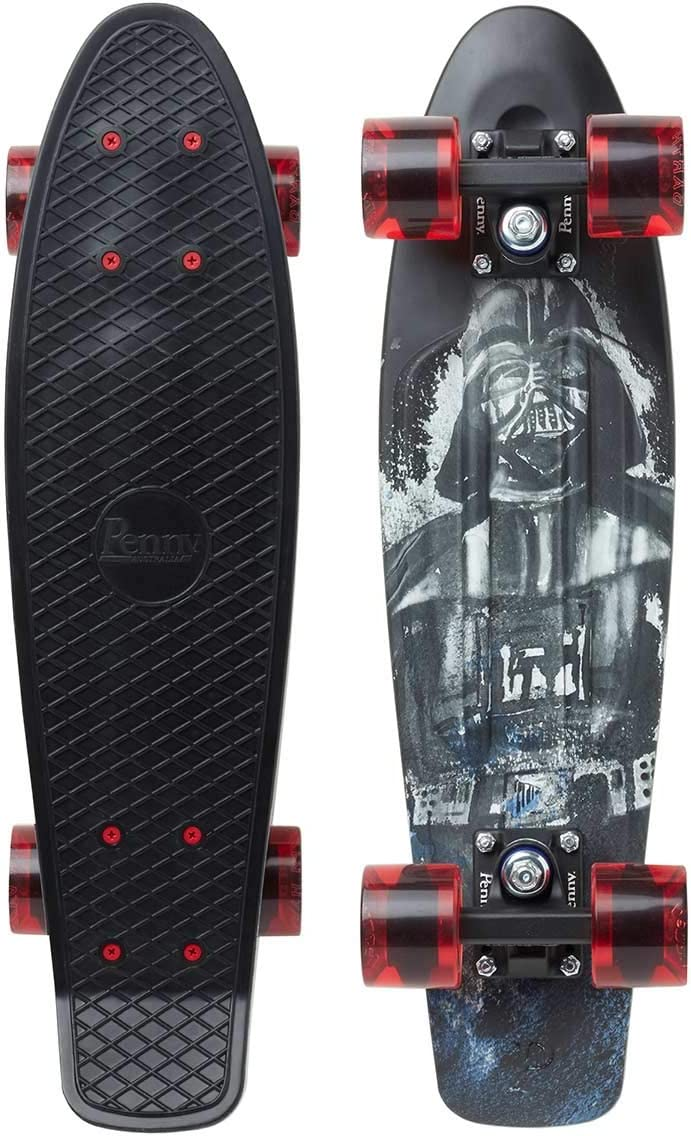 Black Penny Cruiser 22 Darth Vader Skateboard Unisex da Adulto in Nero