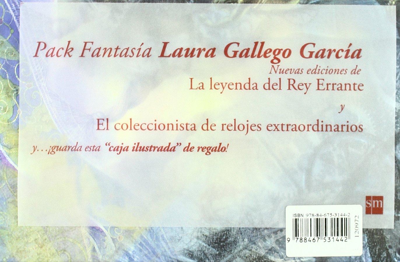 Pack Laura Gallego: La leyenda del Rey Errante; El coleccionista de relojes extraordinarios: Laura; Navarro García, José Luis Gallego García: 9788467531442: ...