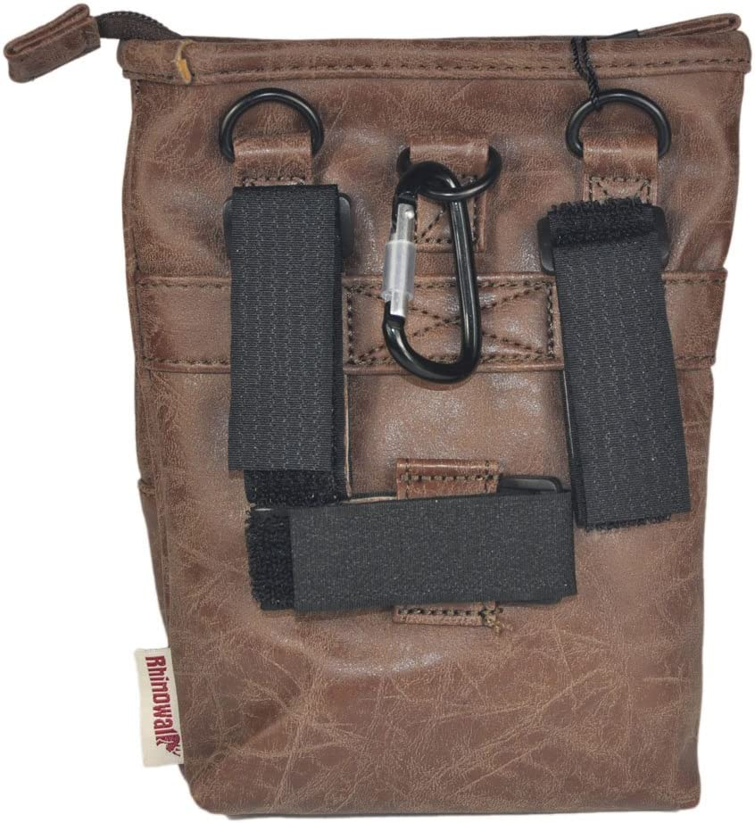 Rhinowalk Bike Handlebar Bag 2L Multifunction Polyurethane Bicycle Front Tube Bag Waist Bag